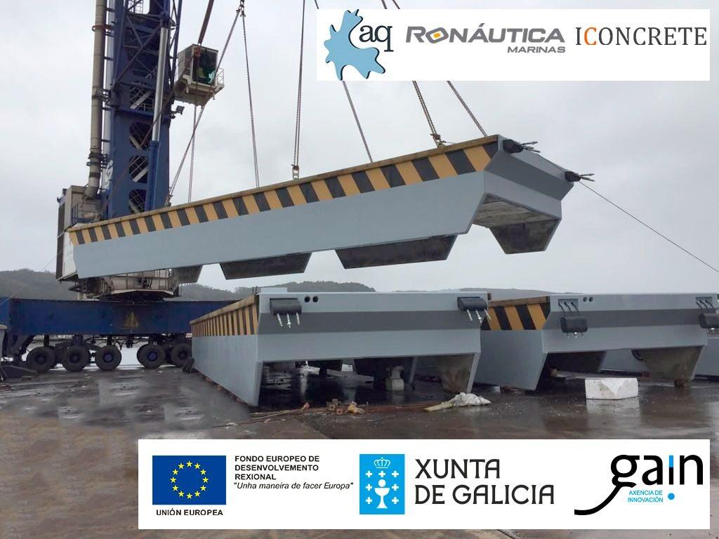 Ronautica iconcrete project